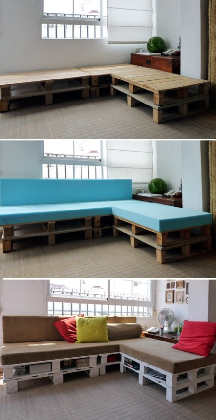 DIY pallet ideas - couch