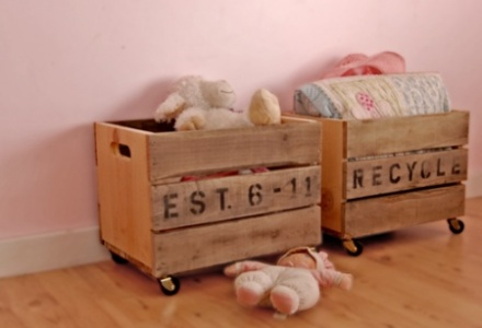 pallets toy boxes