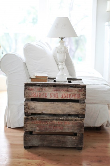 Delicieux Pallet End Table
