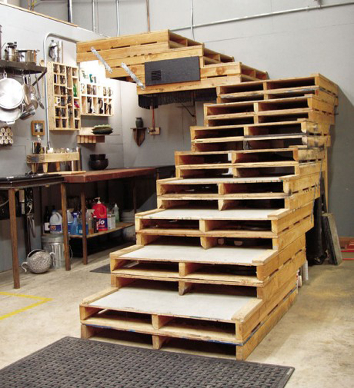 DIY Pallet Idea Stairs Ideas