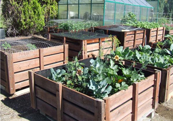 Diy Pallet Garden Bins Diy Pallet Ideas